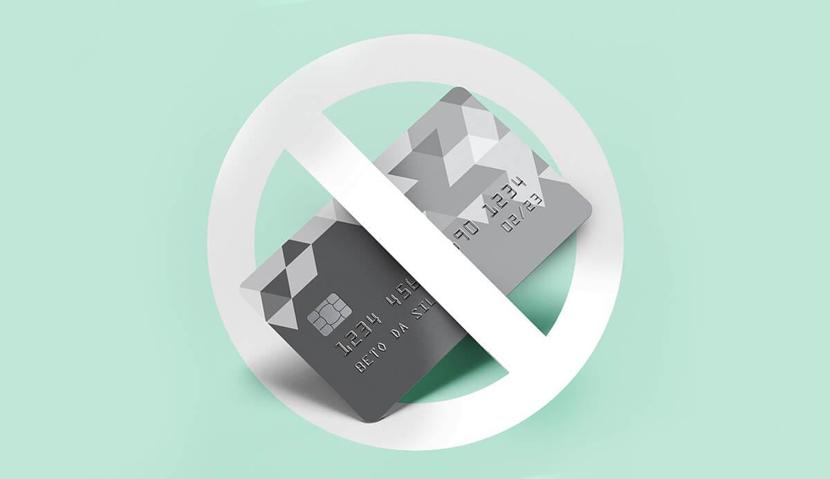 Motivos pelos quais cartões de crédito podem ser negados