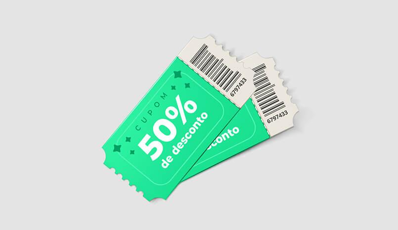 Como poupar dinheiro usando cupons de desconto