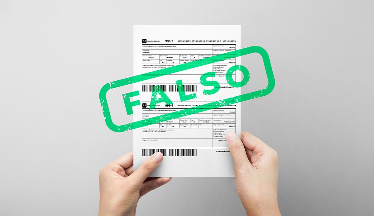 Como evitar golpe do boleto falso