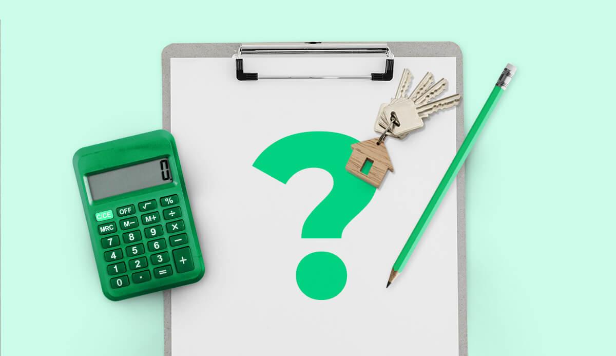Como calcular a taxa de reajuste de aluguel